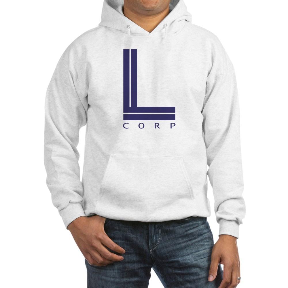 L Corp Logo Hooded Sweatshirt