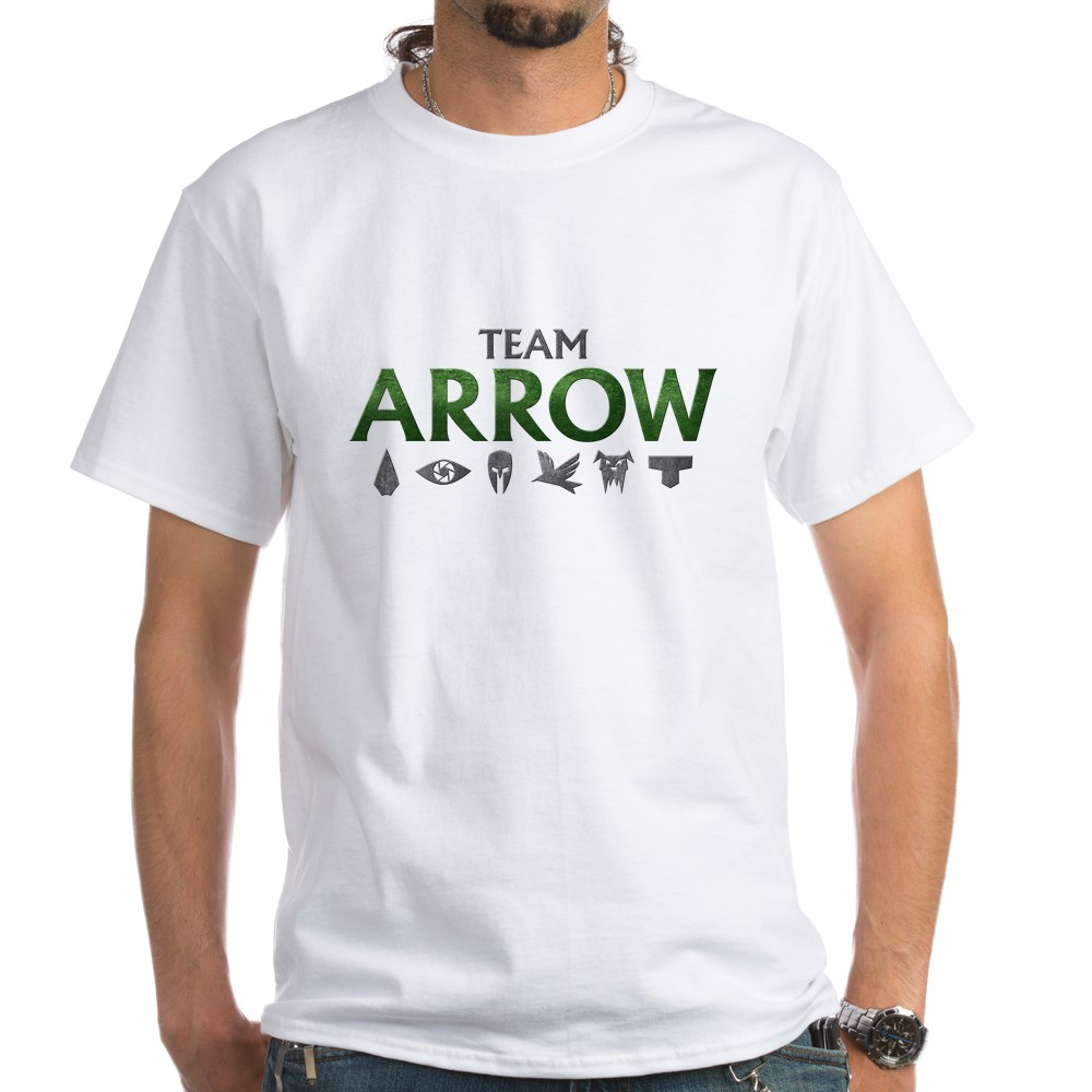 Team Arrow White T-Shirt