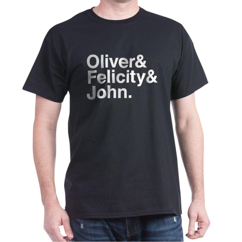 OTA Team Arrow Names Dark T-Shirt