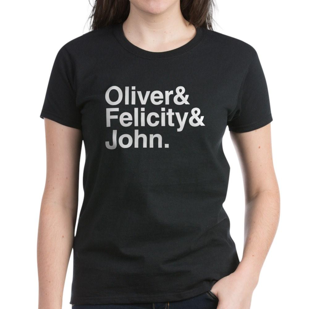 OTA Team Arrow Names Women's Dark T-Shirt