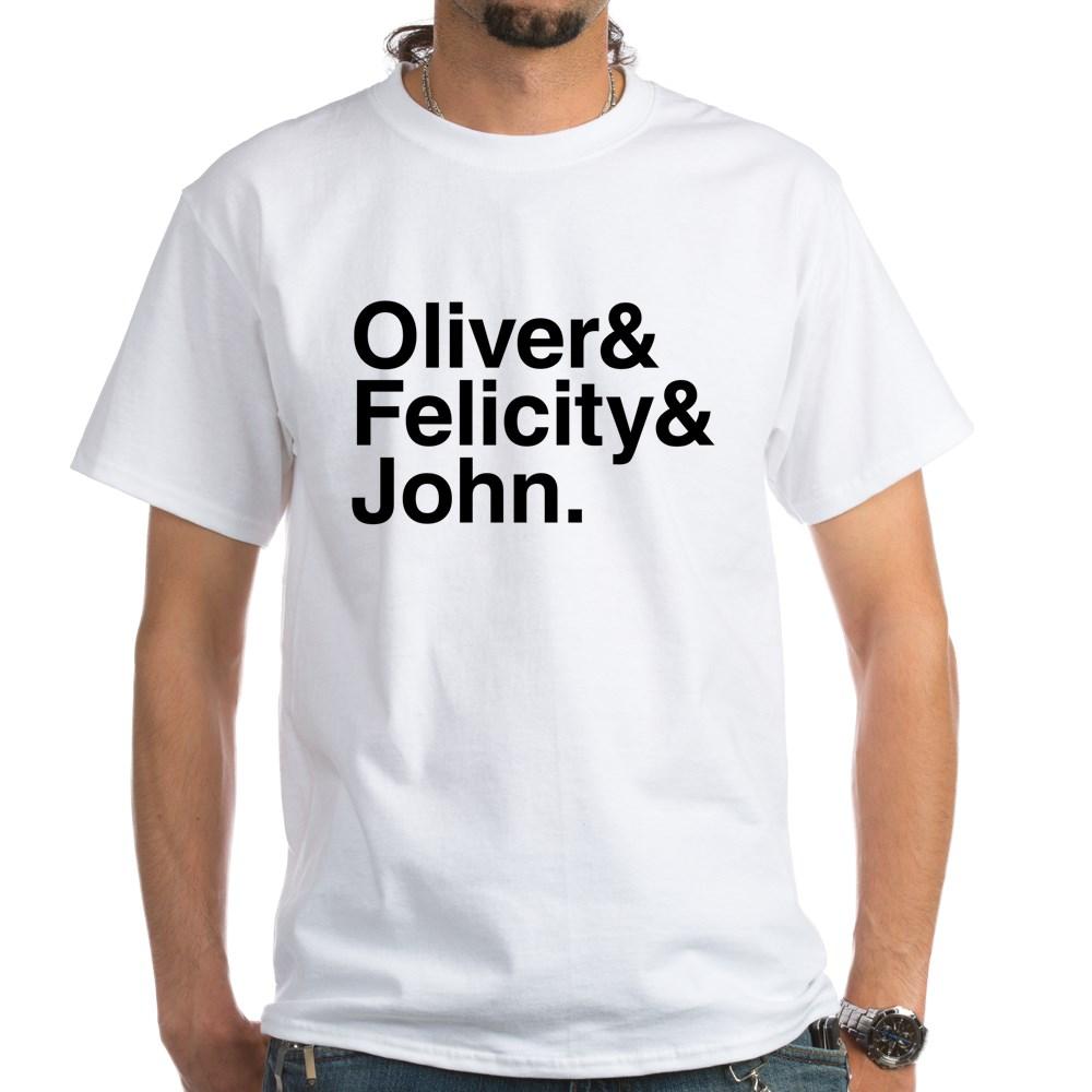 OTA Team Arrow Names White T-Shirt