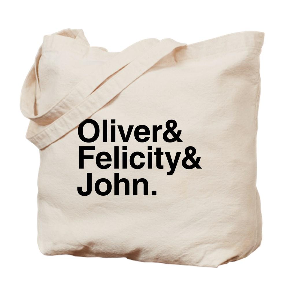 OTA Team Arrow Names Tote Bag
