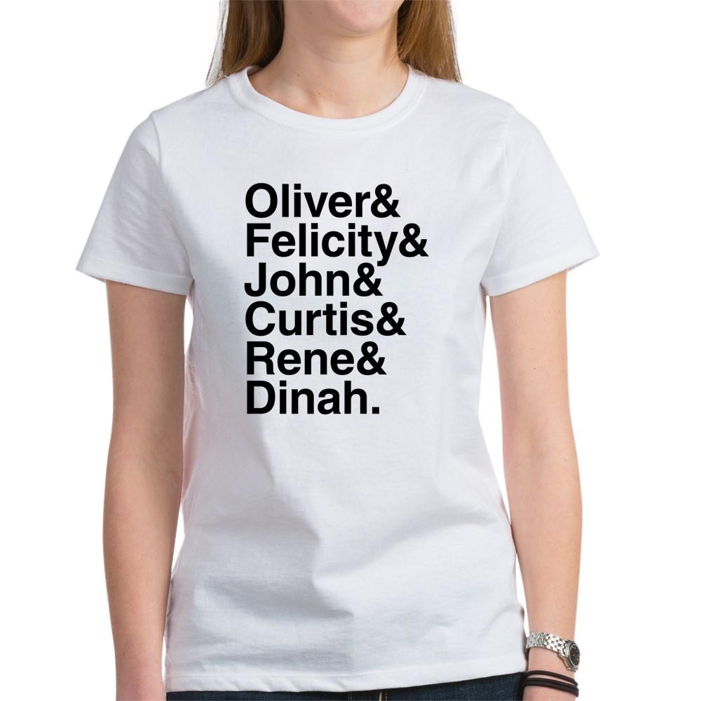 Team Arrow name List Women's T-Shirt