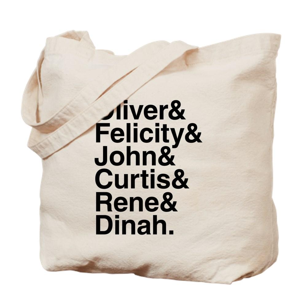 Team Arrow name List Tote Bag