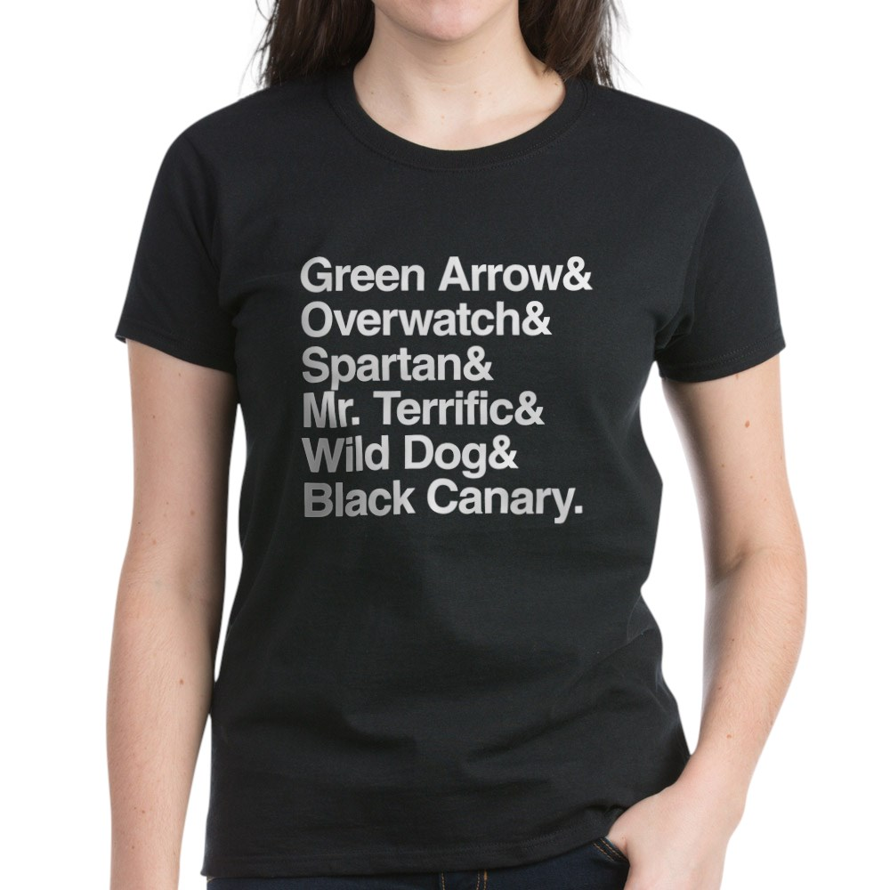 Team Arrow Codenames List Women's Dark T-Shirt