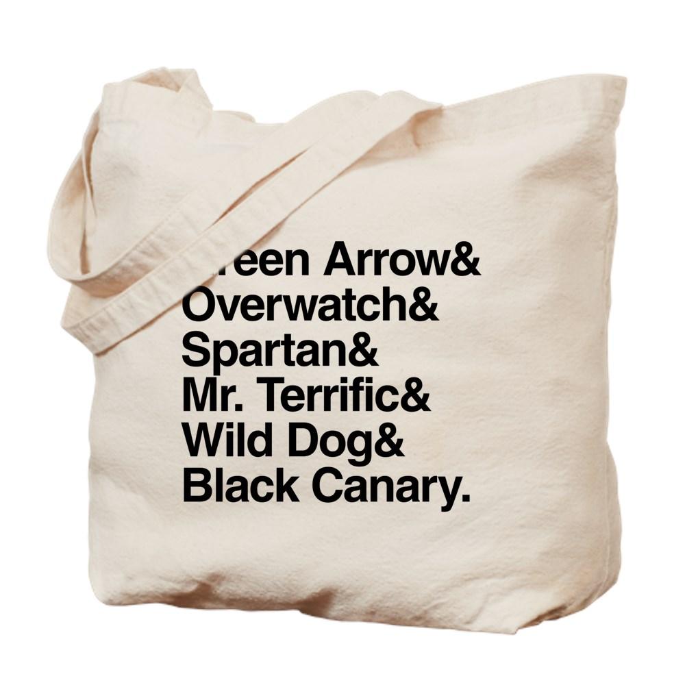 Team Arrow Codenames List Tote Bag