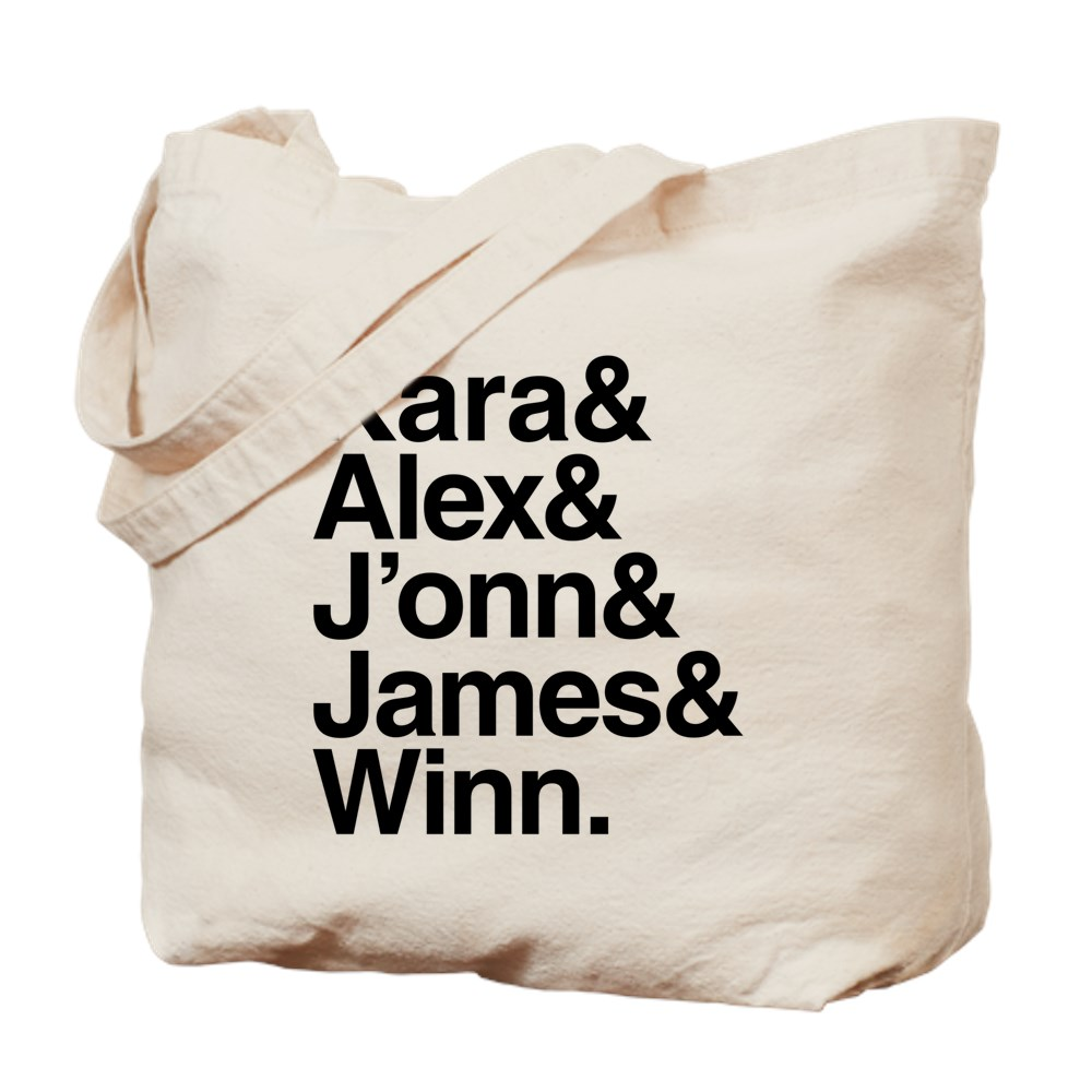 Team Supergirl Name List Tote Bag