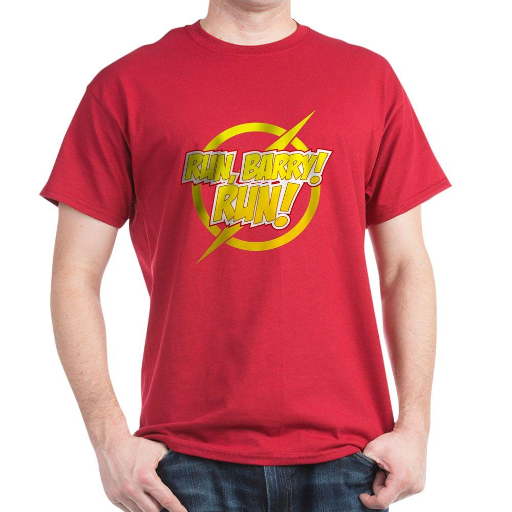 Run, Barry! Run! Dark T-Shirt