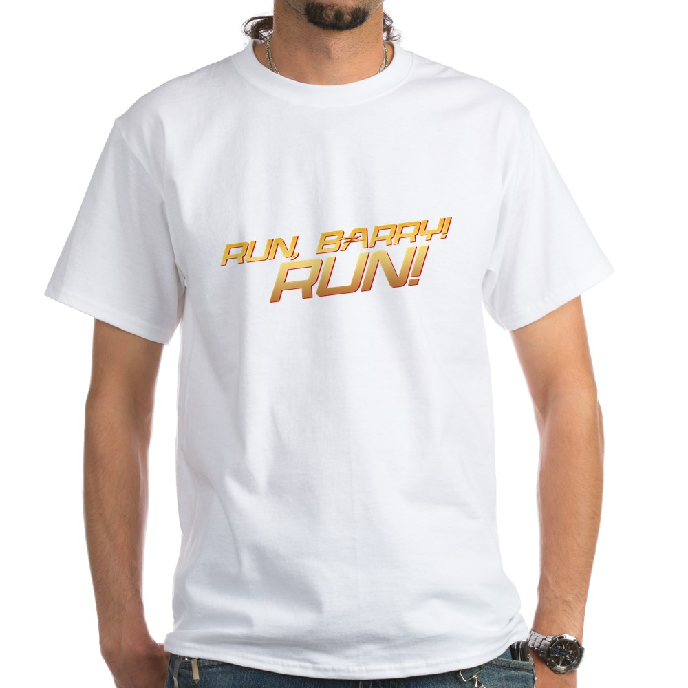 Run, Barry! Run! White T-Shirt