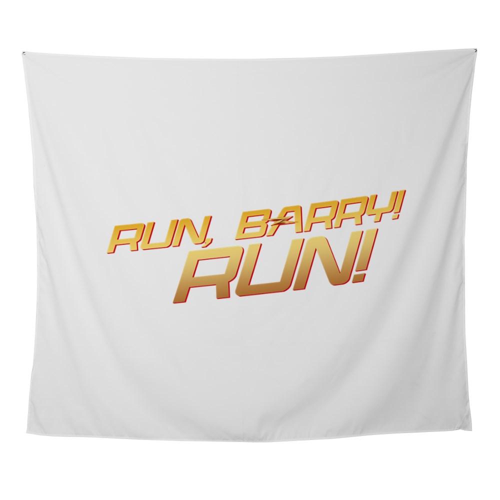 Run, Barry! Run! Wall Tapestry