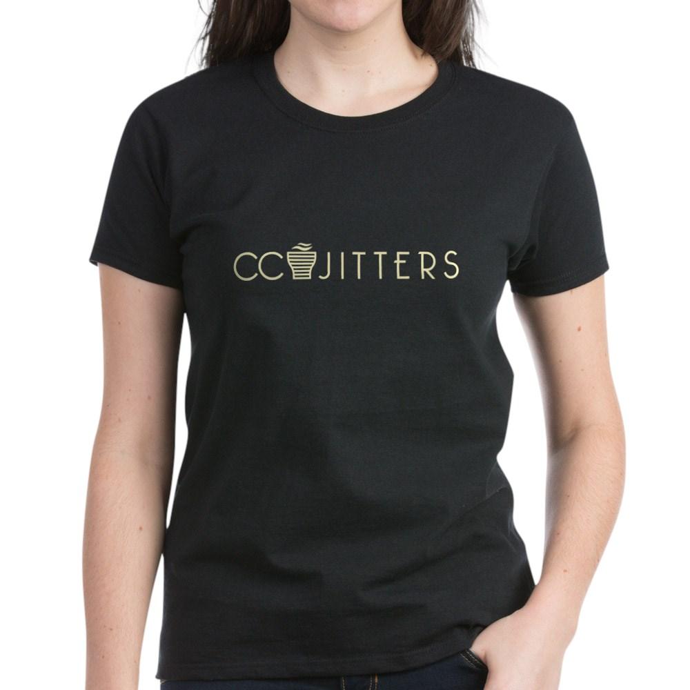 CC Jitters Logo Women's Dark T-Shirt