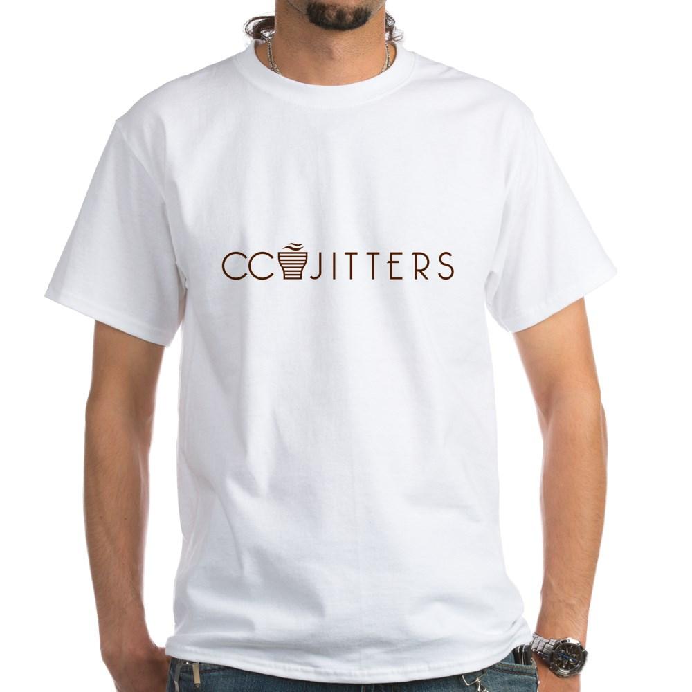 CC Jitters Logo White T-Shirt