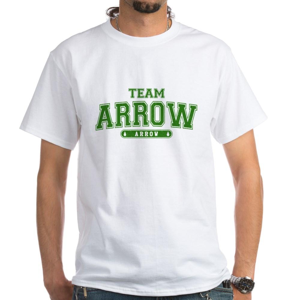 Team Arrow Athletic White T-Shirt