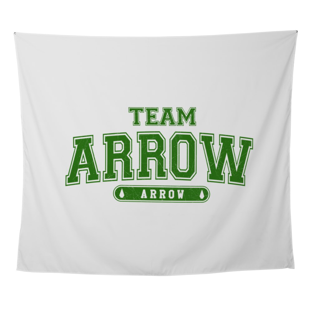 Team Arrow Athletic Wall Tapestry