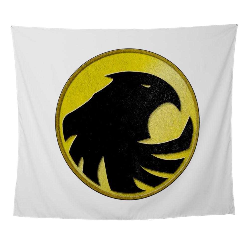Black Canary Logo Wall Tapestry