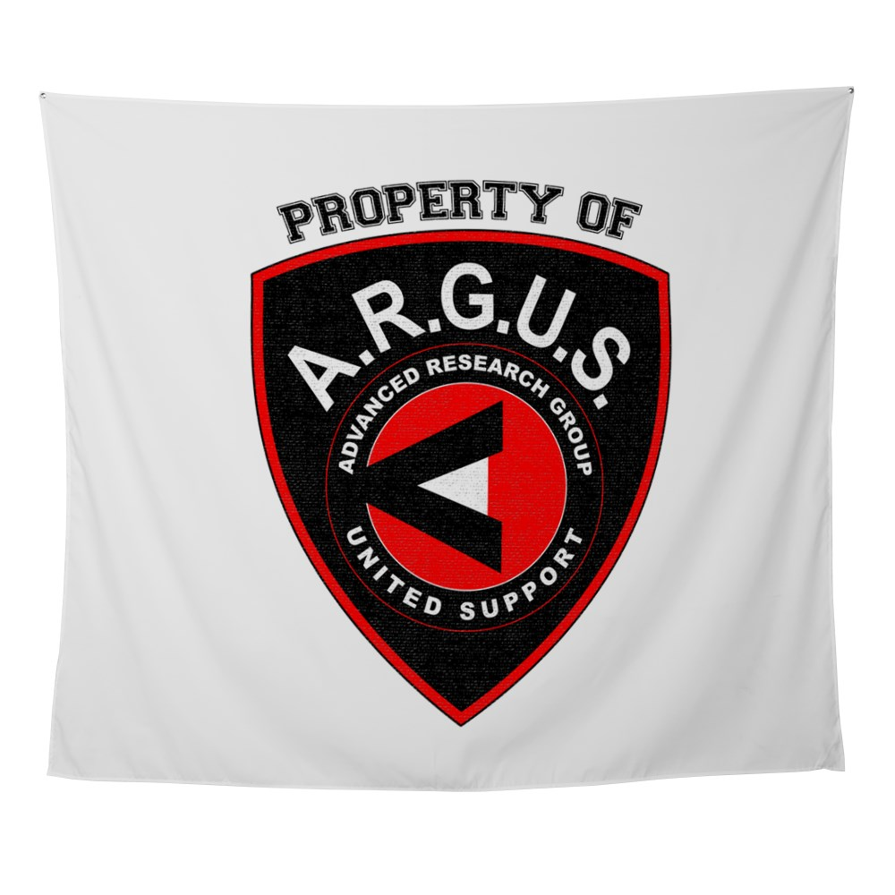 Property of ARGUS Wall Tapestry