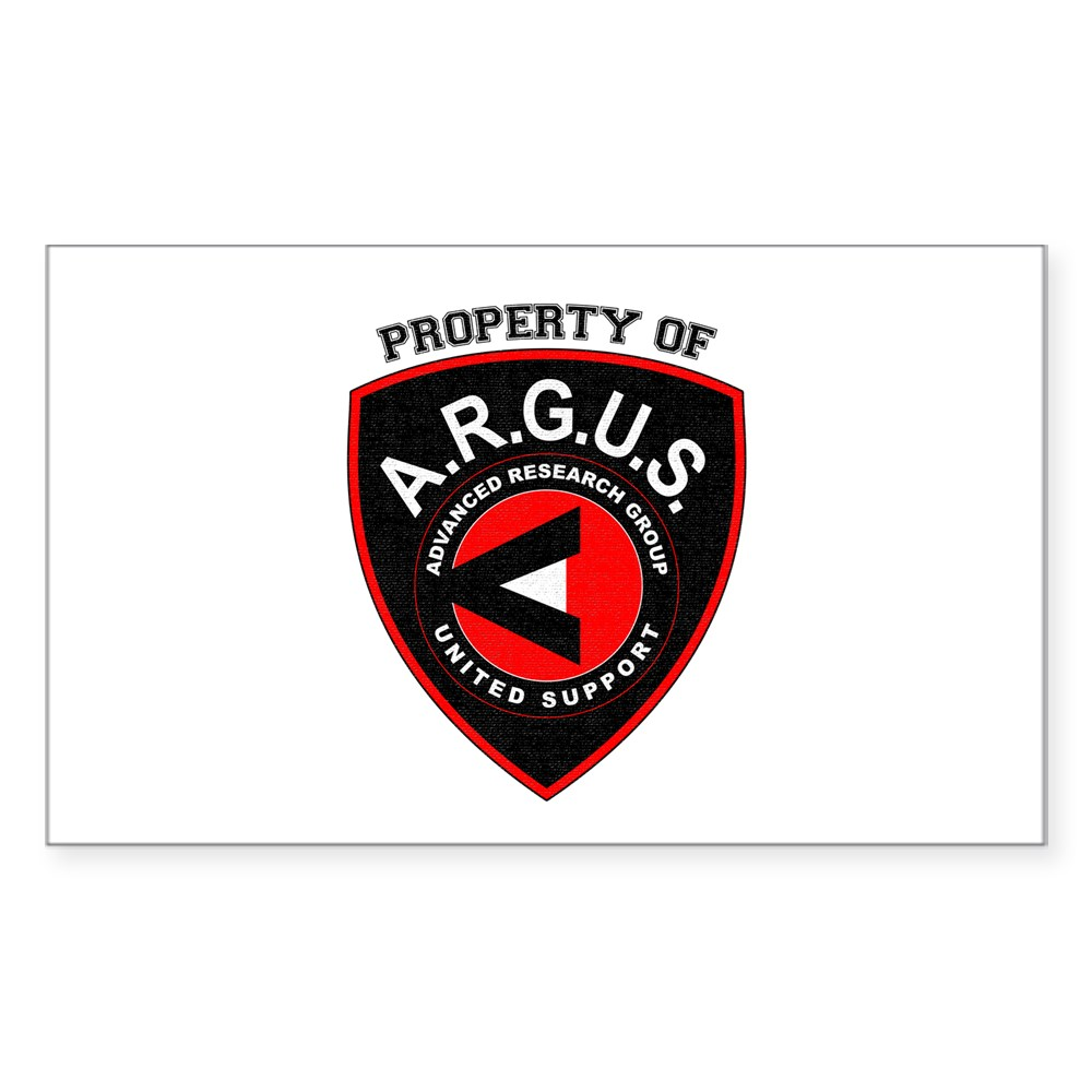 Property of ARGUS Rectangle Sticker