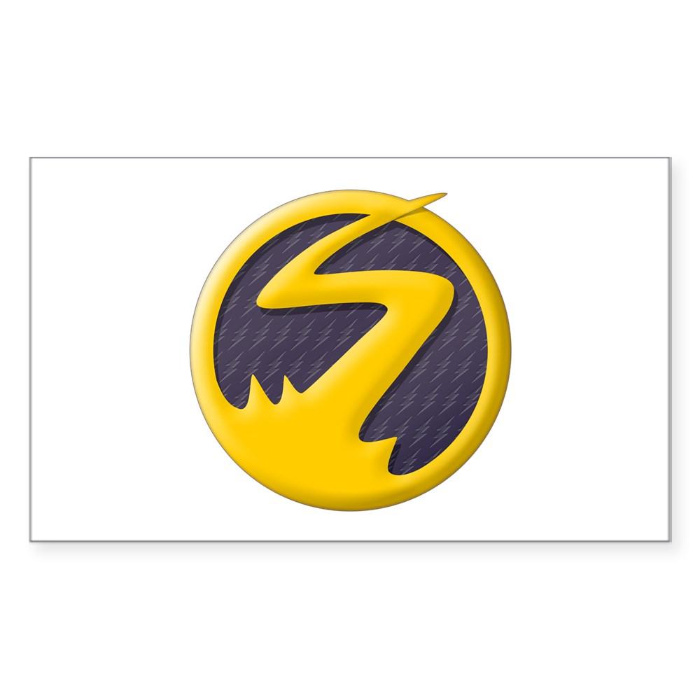 Nora West-Allen XS Logo Rectangle Sticker