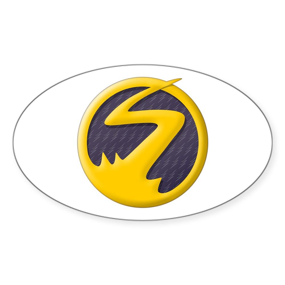 Nora West-Allen XS Logo Oval Sticker