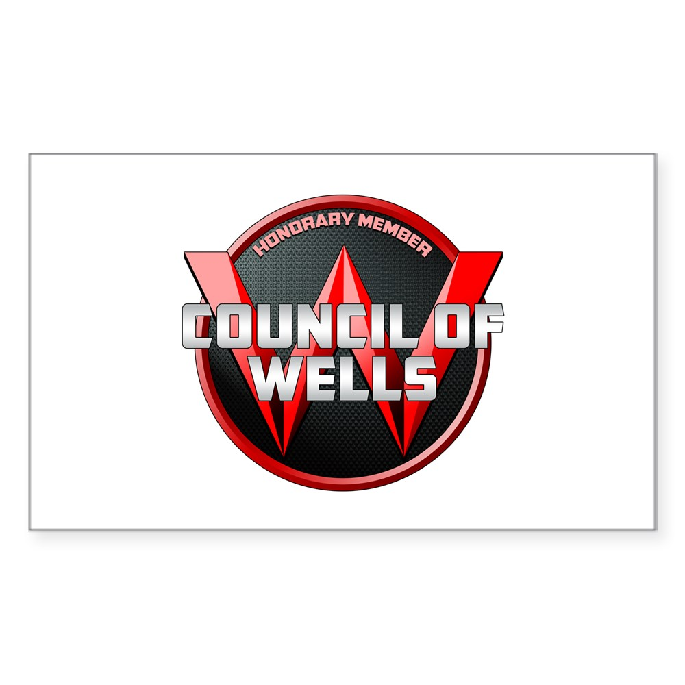 Council of Wells - Honorary Member Rectangle Sticker