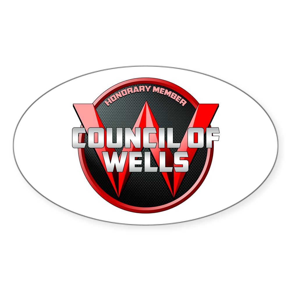 Council of Wells - Honorary Member Oval Sticker