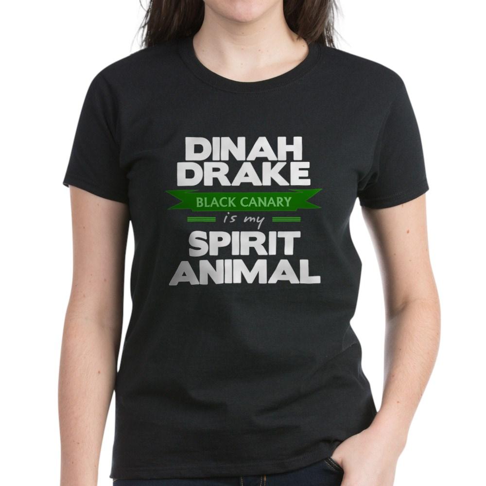 Dinah Drake Is My Spirit Animal Women's Dark T-Shirt
