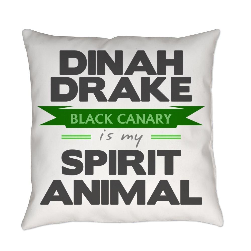 Dinah Drake Is My Spirit Animal Everyday Pillow