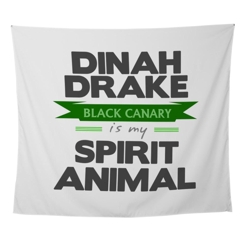 Dinah Drake Is My Spirit Animal Wall Tapestry