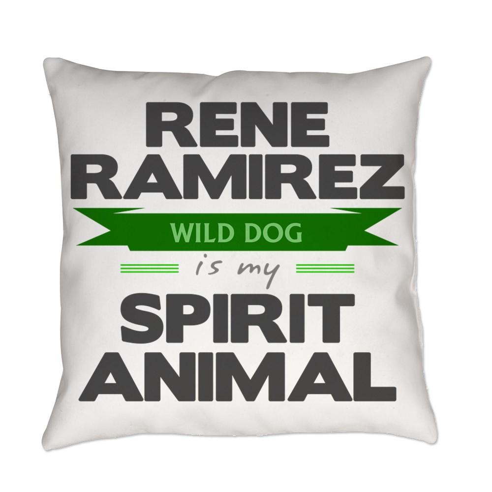 Rene Ramirez is my Spirit Animal Everyday Pillow