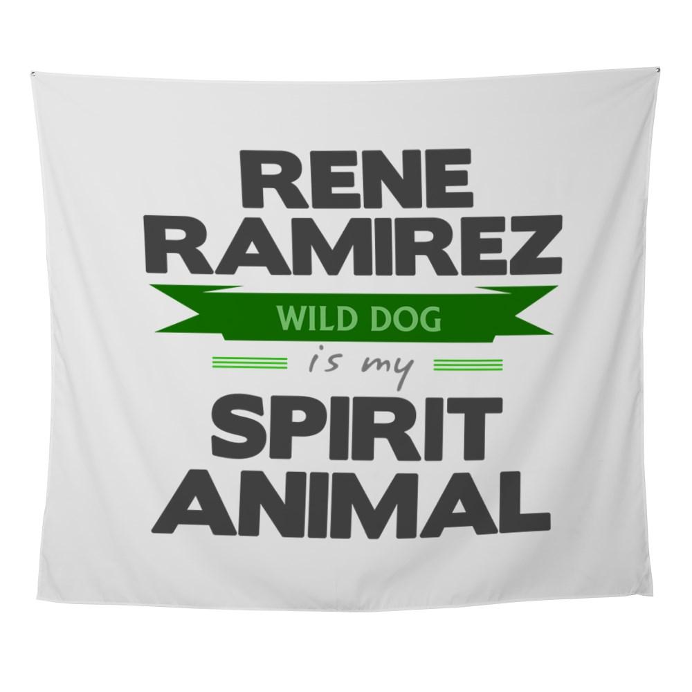 Rene Ramirez is my Spirit Animal Wall Tapestry