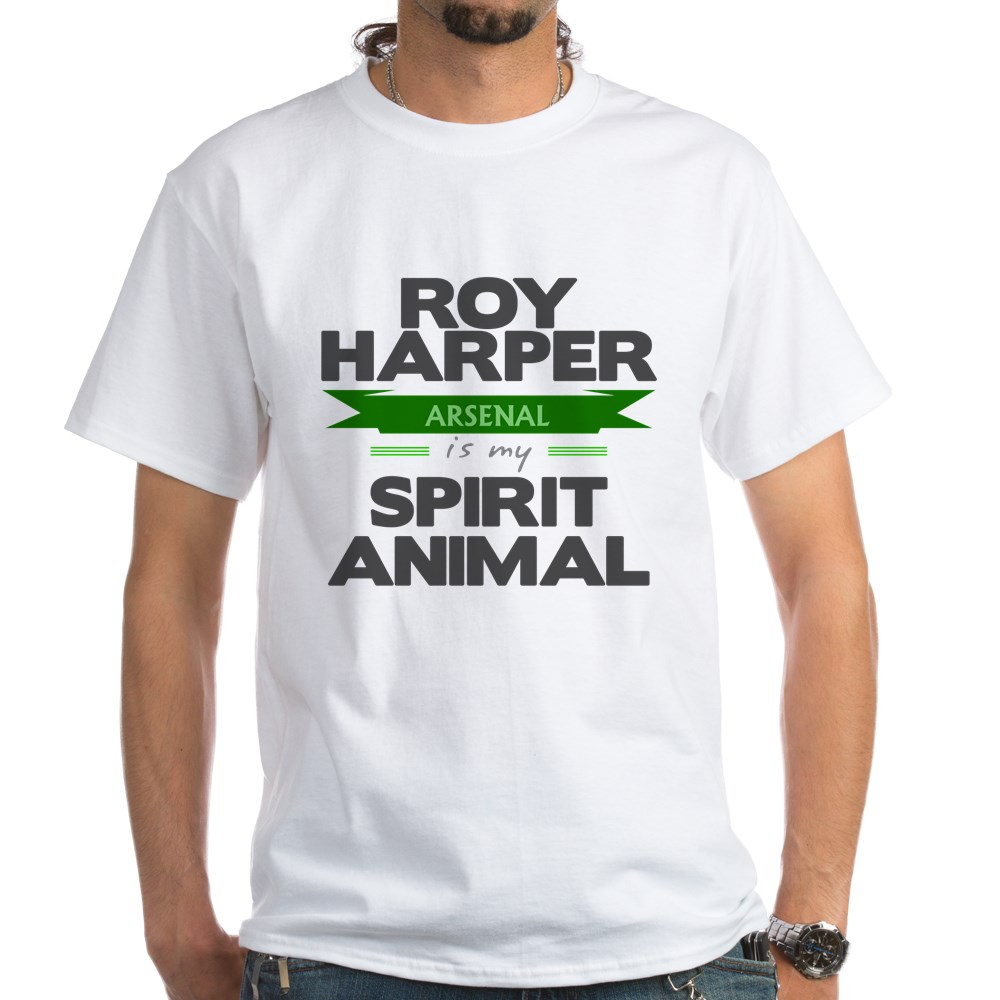 Roy Harper is my Spirit Animal White T-Shirt