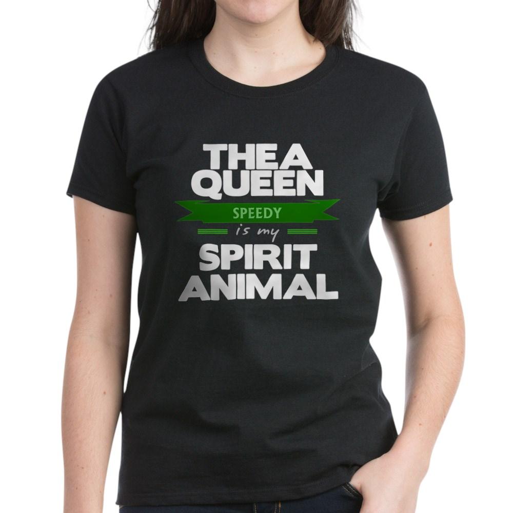Thea Queen is my Spirit Animal Women's Dark T-Shirt