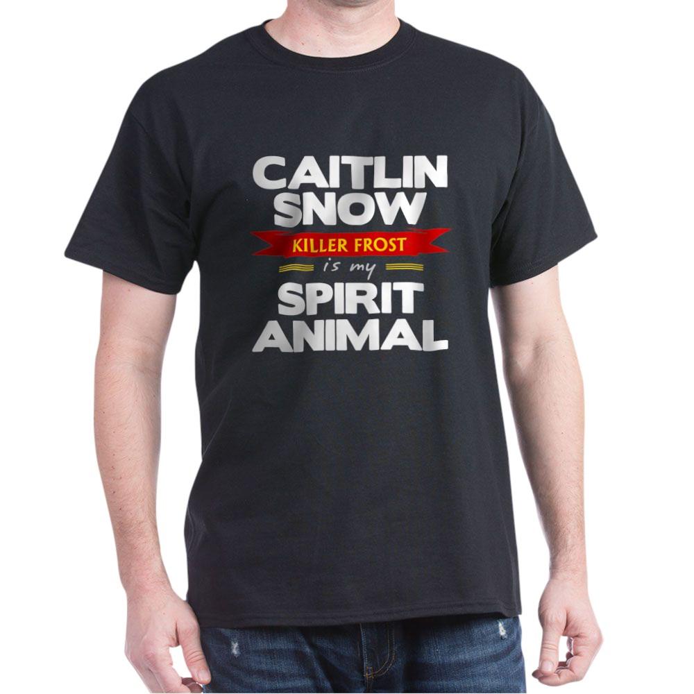 Caitlin Snow is my Spirit Animal Dark T-Shirt