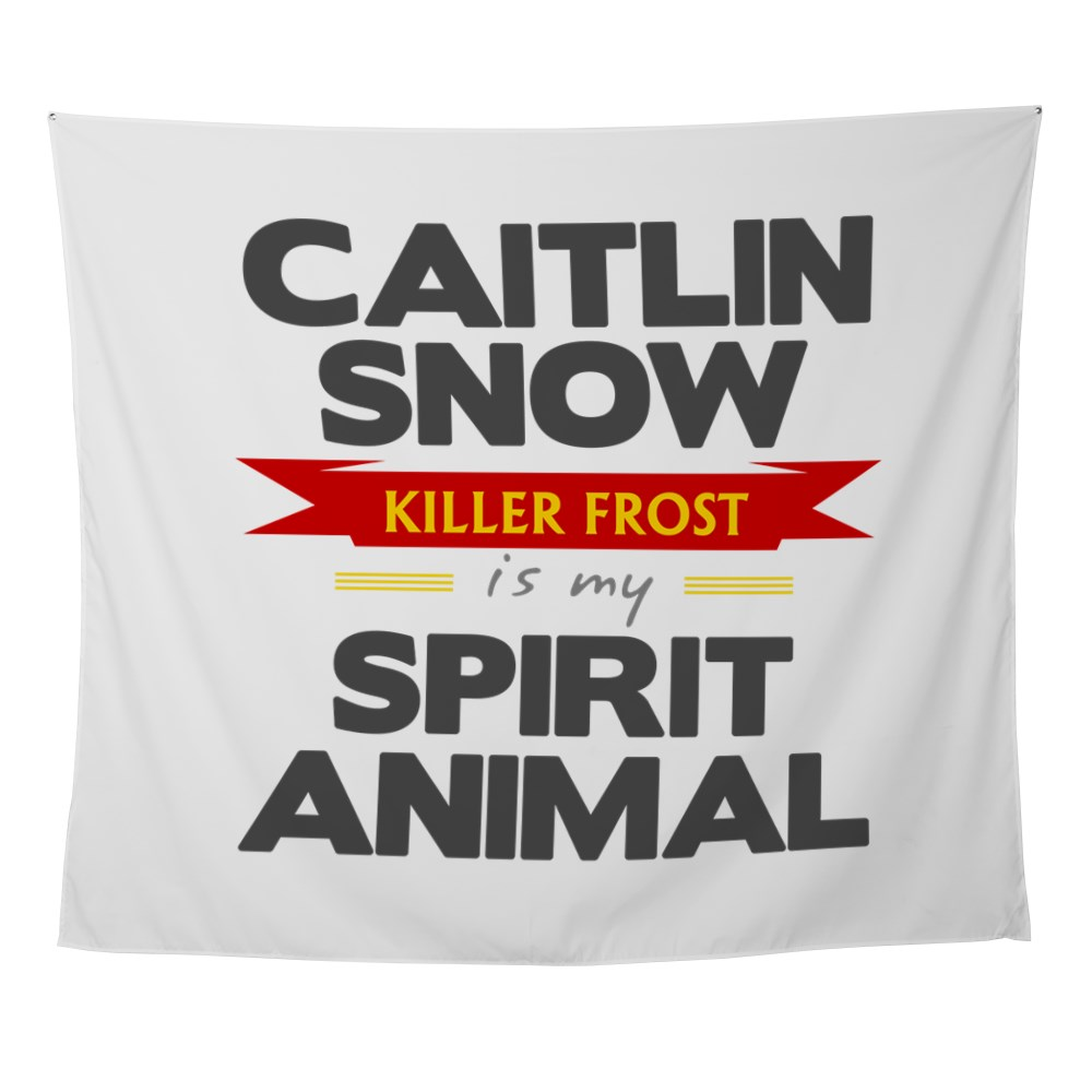 Caitlin Snow is my Spirit Animal Wall Tapestry