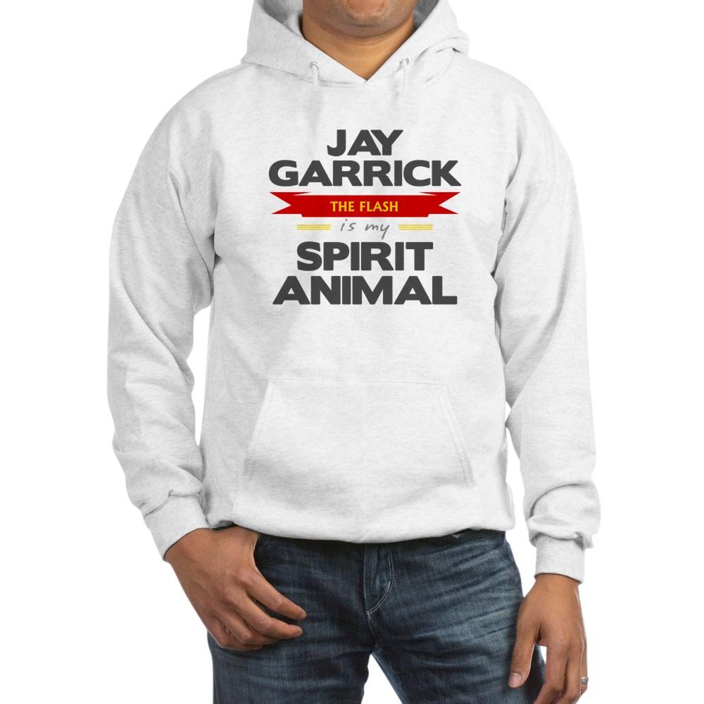 Jay Garrick is my Spirit Animal Hooded Sweatshirt