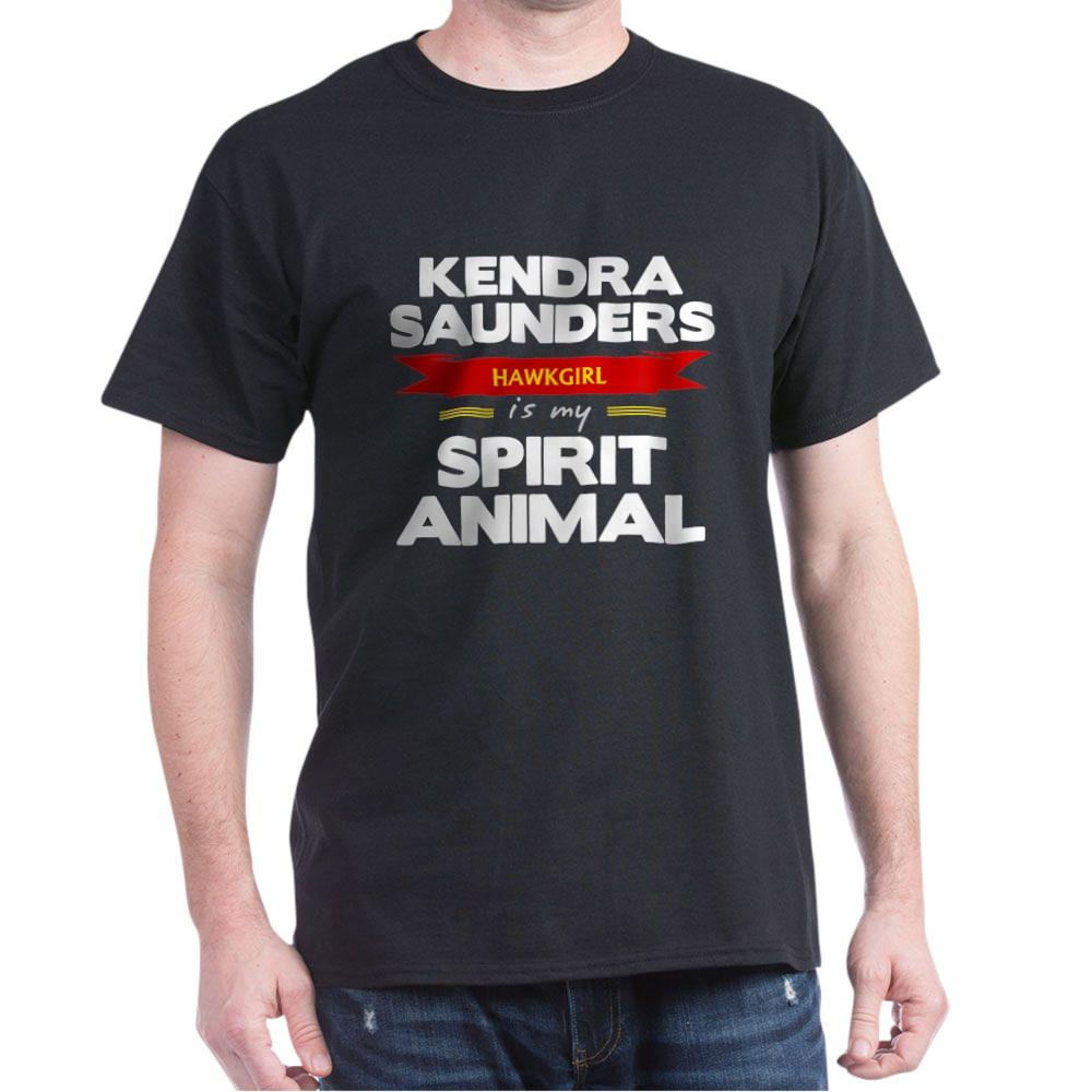 Kendra Saunders is my Spirit Animal Dark T-Shirt