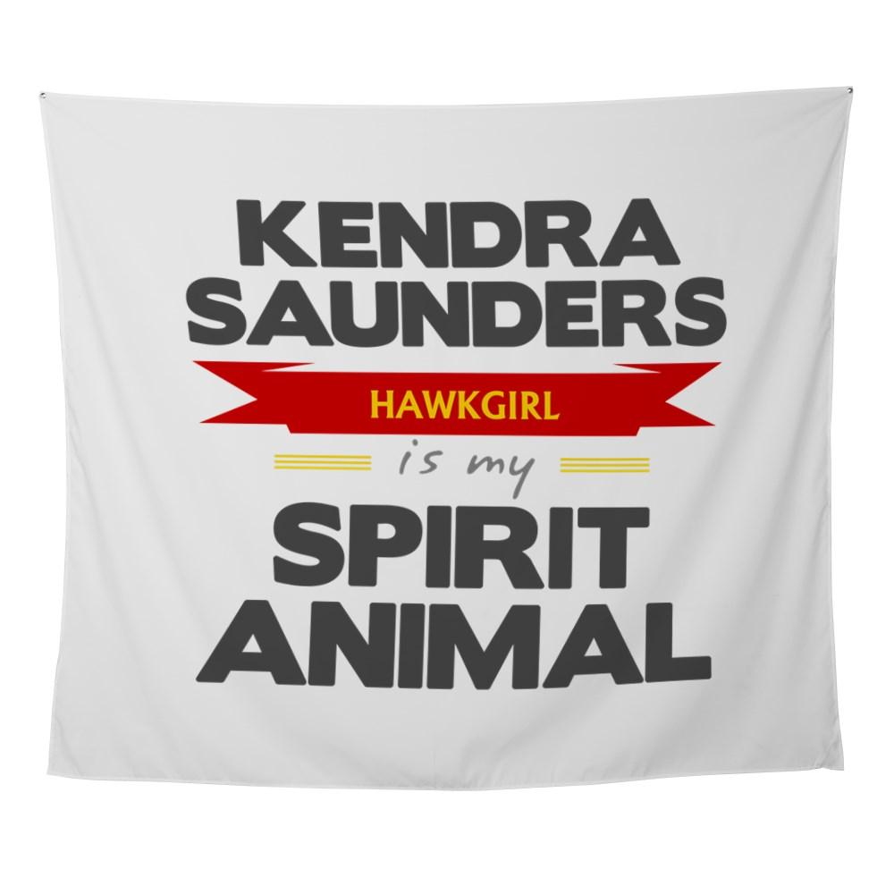 Kendra Saunders is my Spirit Animal Wall Tapestry