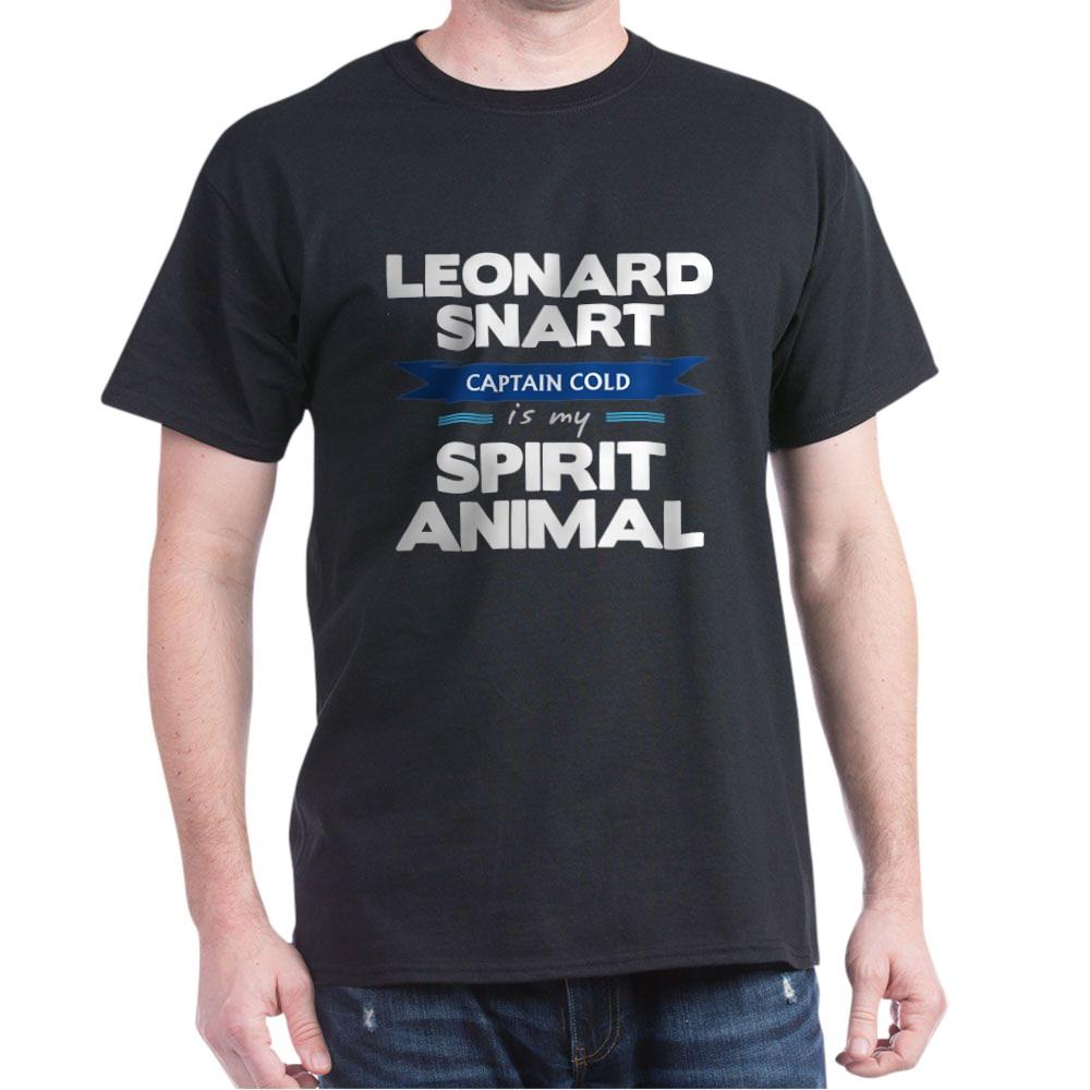Leonard Snart is my Spirit Animal Dark T-Shirt