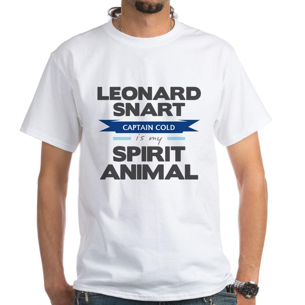 Leonard Snart is my Spirit Animal White T-Shirt