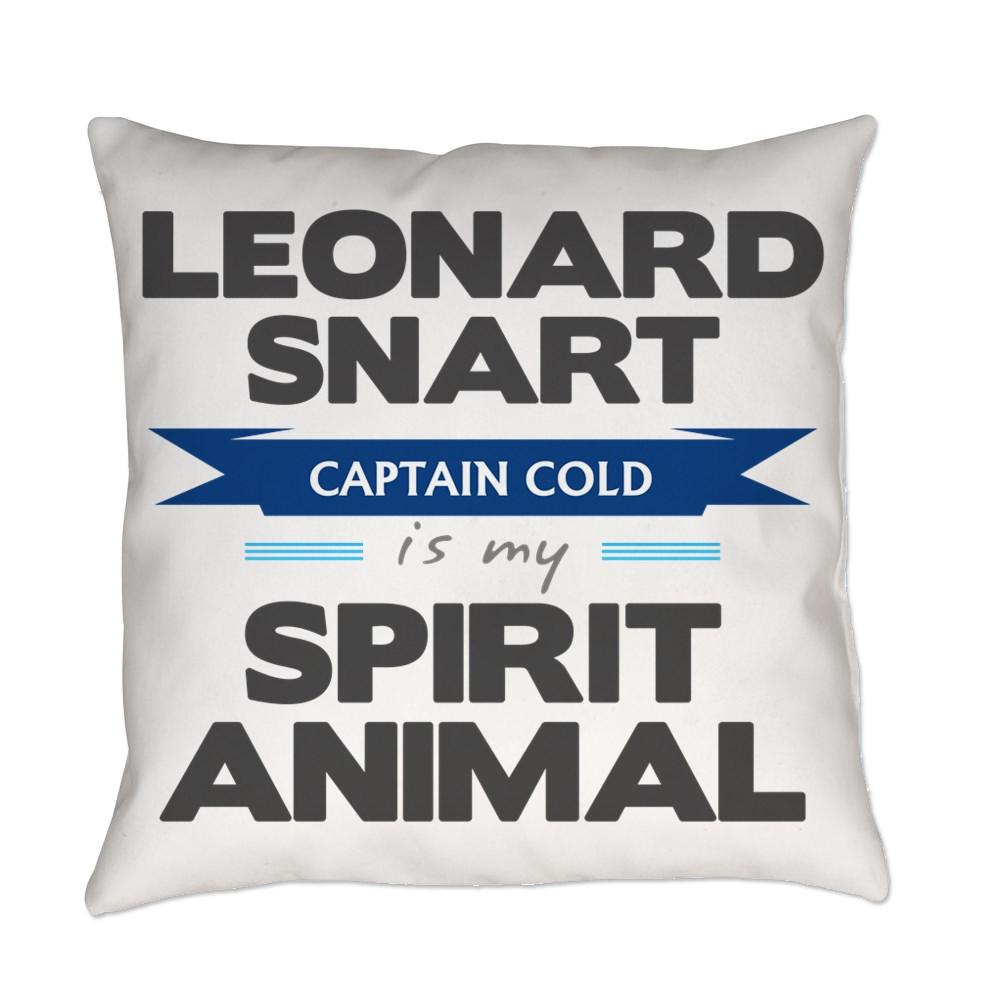 Leonard Snart is my Spirit Animal Everyday Pillow