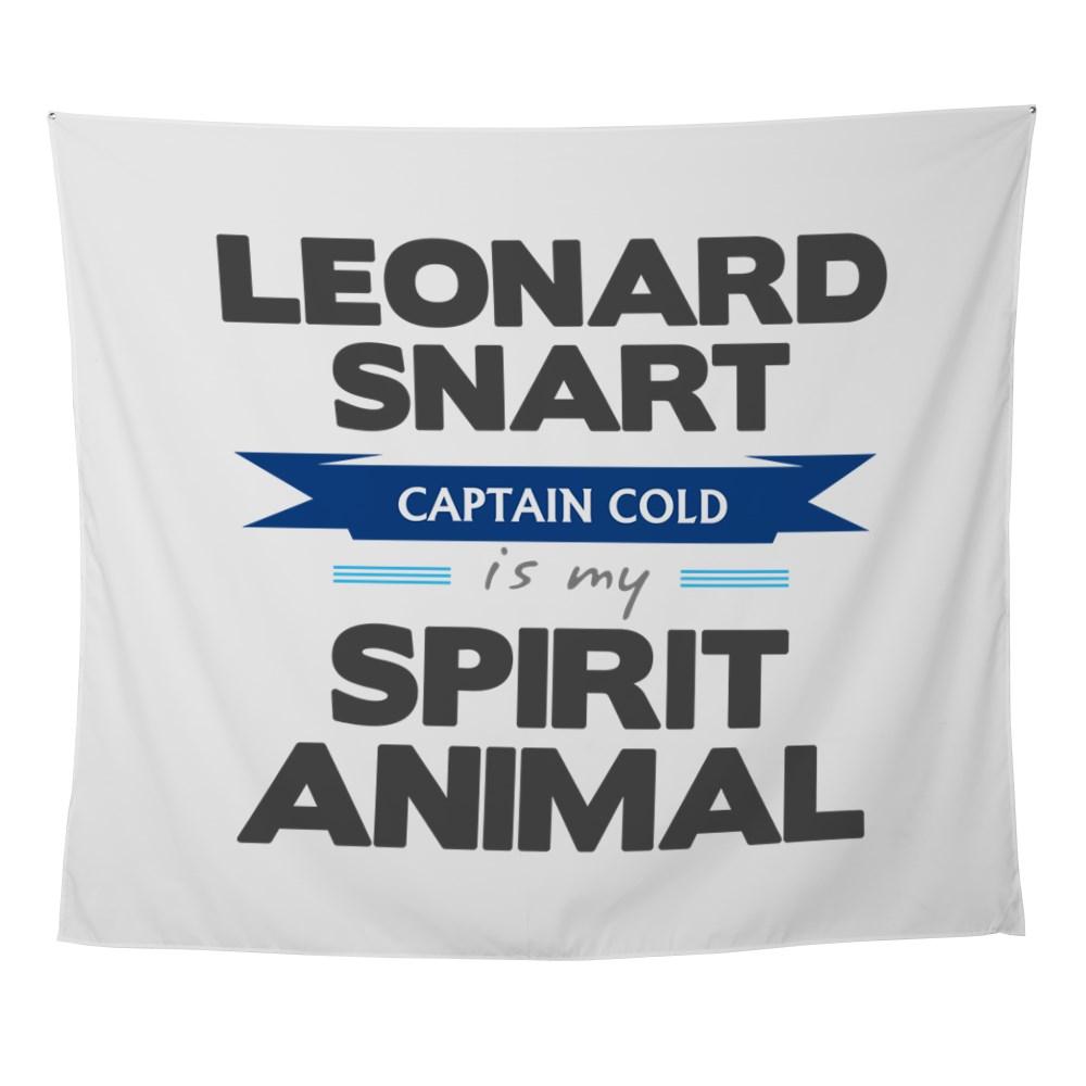 Leonard Snart is my Spirit Animal Wall Tapestry