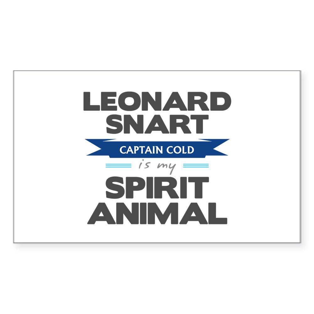 Leonard Snart is my Spirit Animal Rectangle Sticker