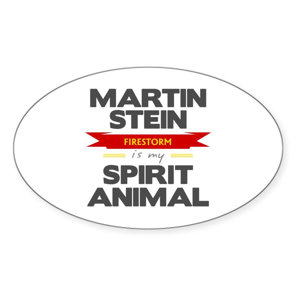 Martin Stein is my Spirit Animal Oval Sticker