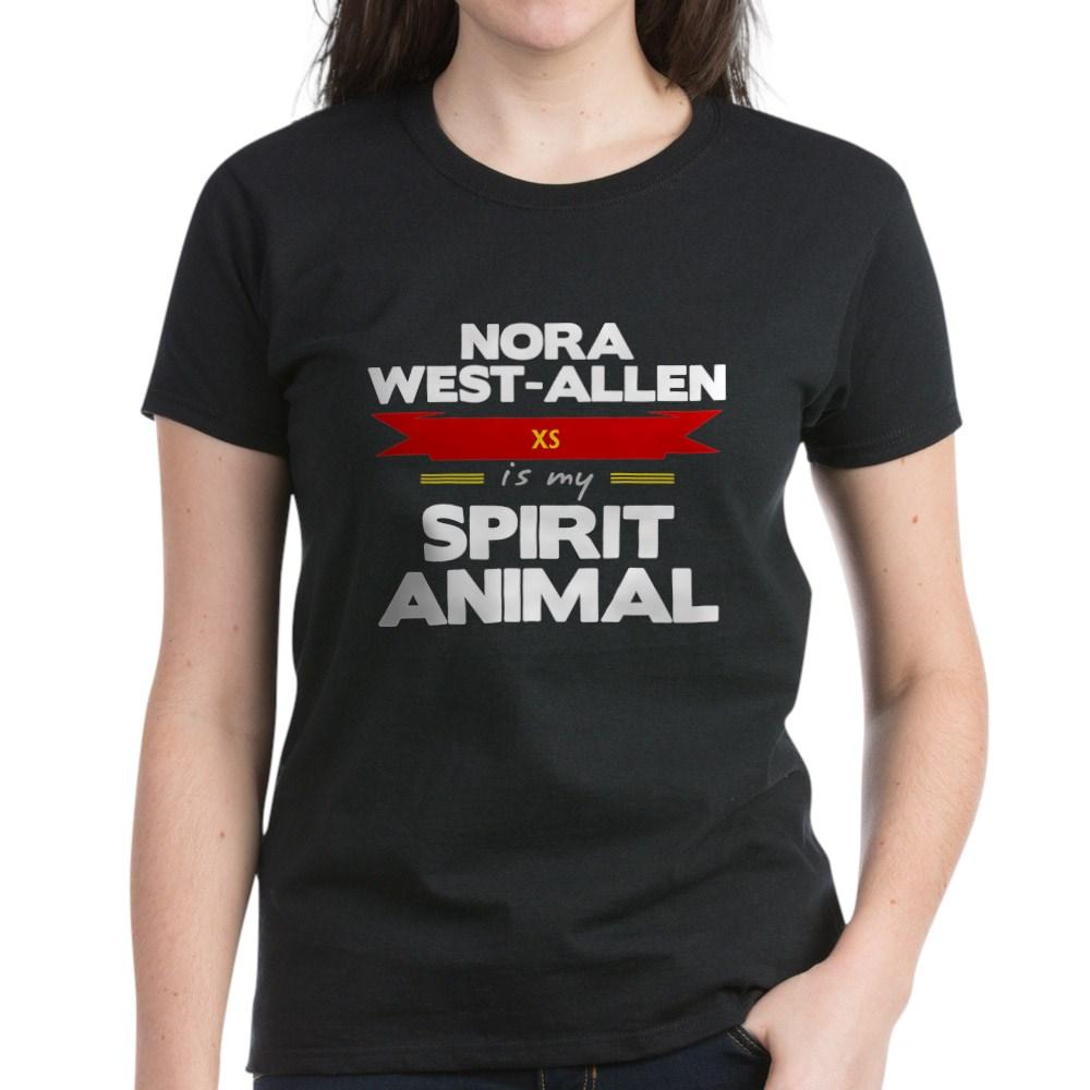 Nora West-Allen is my Spirit Animal Women's Dark T-Shirt