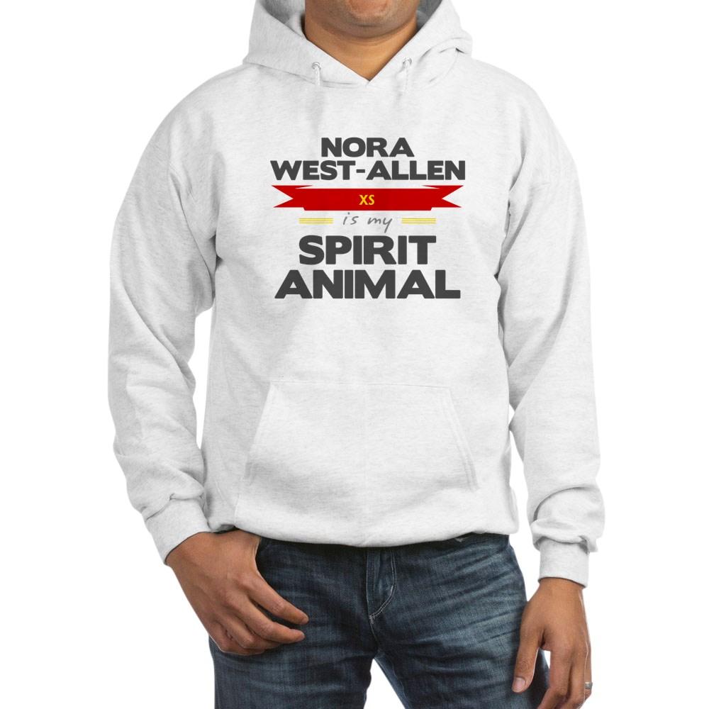 Nora West-Allen is my Spirit Animal Hooded Sweatshirt