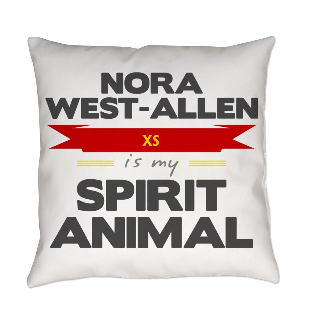 Nora West-Allen is my Spirit Animal Everyday Pillow