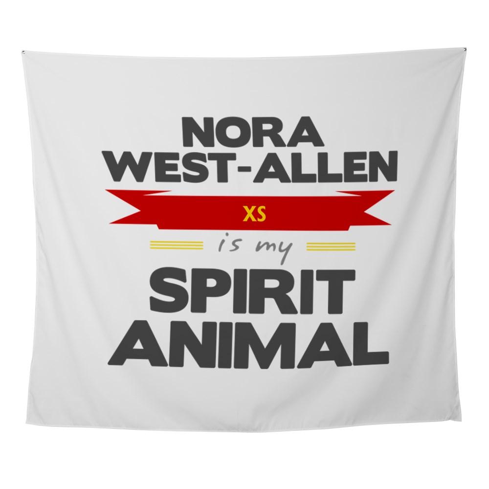 Nora West-Allen is my Spirit Animal Wall Tapestry