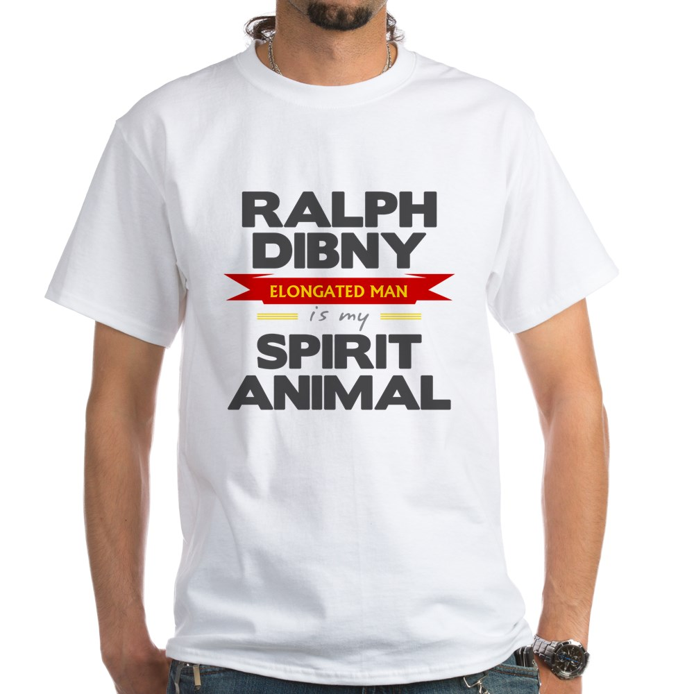 Ralph Dibny is my Spirit Animal White T-Shirt