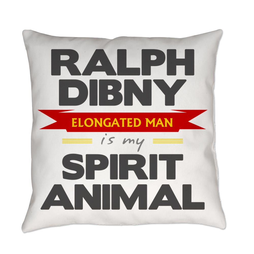 Ralph Dibny is my Spirit Animal Everyday Pillow