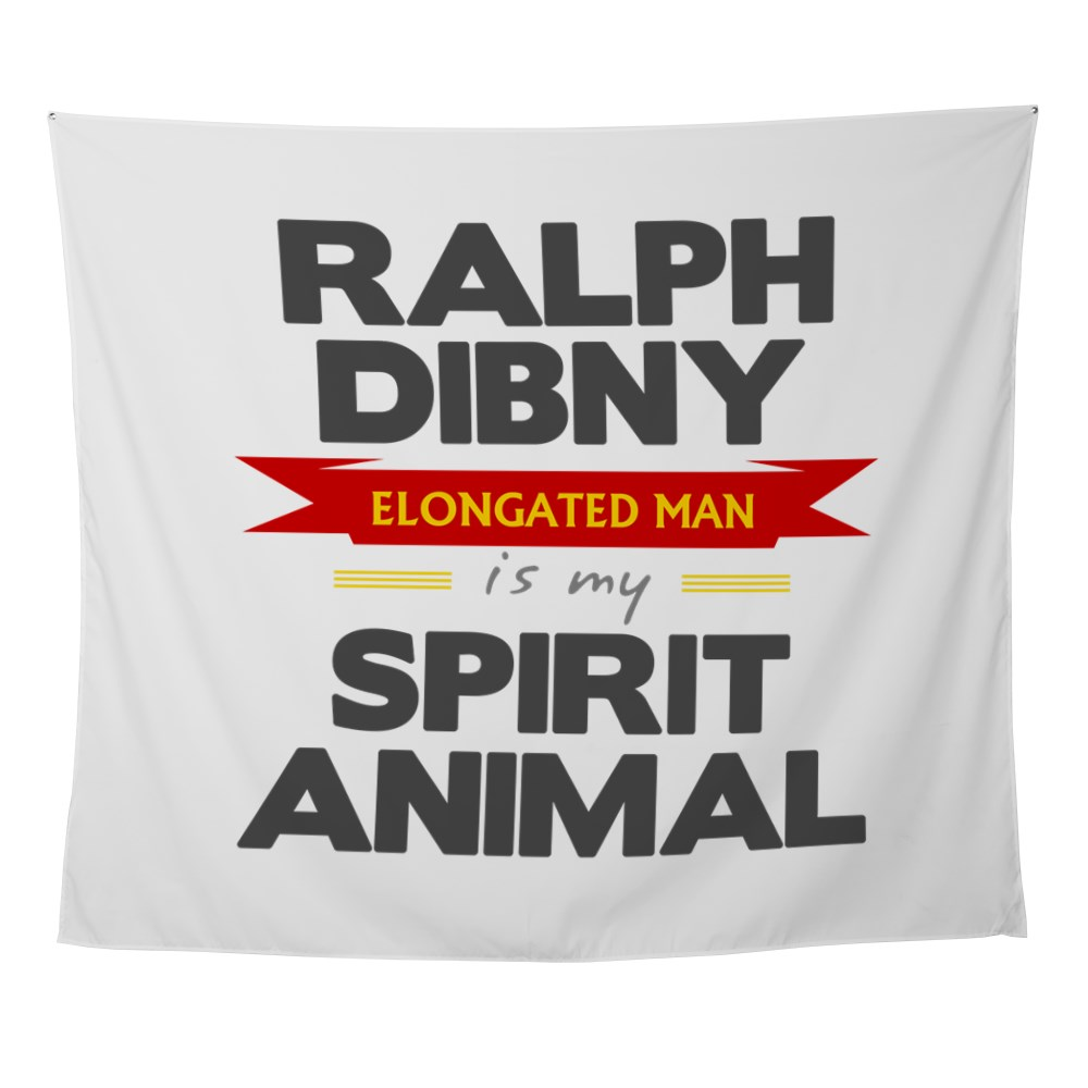 Ralph Dibny is my Spirit Animal Wall Tapestry